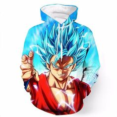 Dragon Ball Z 3D Hoodies 2017 New Design