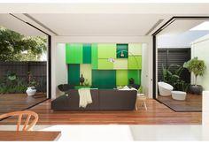 Shakin' Stevens residence, Middle Park, Victoria, Australia. Extension and renovation by Matt Gibson Architecture + Design. Photo: Shannon McGrath
