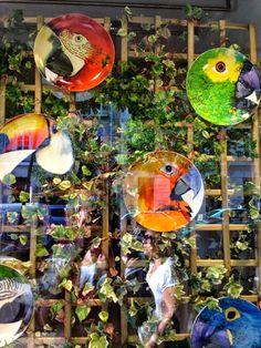 COLORFUL BIRD DISHES #LISBON #lisboa #portugal #colors #fashion #lifestlyle #art #monument #design #city #europe #travelling #trip #lifestyleblogger #lifestyleblog #cool #capital #erasmuscity #fun #funny #inspiration #photography #beach #summer #vacation #tourism #holyday #places #colorful