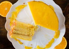 Amazing recipe for the most elegant and moist Orange Layer Cake. From scratch and with step by step pictures. Chilean Recipes, Chilean Food, Cake Flour, Sweet Cakes, Yummy Cakes, Cake Recipes, Cheesecake, Good Food, Baking