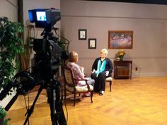 On the set of KPLE-TV talking about Quenched. @concordiapub