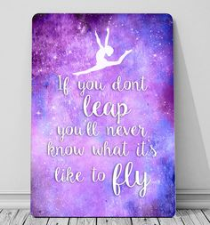 Gymnastic jump off the beam quote sign metal plaque girls bedroom wall art OMG YES ps I take gymnastics Gymnastics Bedroom, Gymnastics Girls, Gymnastics Stuff, Olympic Gymnastics, Olympic Games, Gymnastics Crafts, Gymnastics Sayings, Acrobatic Gymnastics, Gymnastics Leotards