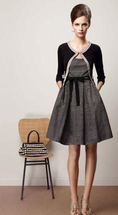 1950's style in tweed! Love