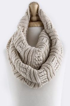 Claire Infinity Scarf on Emma Stine Limited maybe my next crocheting project