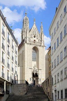 Maria am Gestade 14th Century, Kirchen, Notre Dame, Barcelona Cathedral, Vienna Austria, Architecture, Building, Vienna, Europe