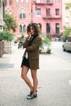 blazer jacket | #fashion #streetstyle | http://lkl.st/1mZSK3e | See more on https://www.lookli.st #Looklist