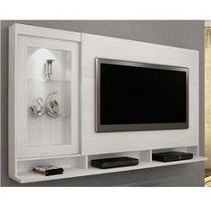 painel para colocar tv e home theater - Pesquisa Google