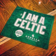Game 2 rally towel. #iamaceltic