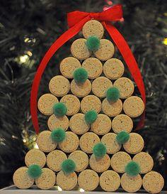Cork -Christmas Tree