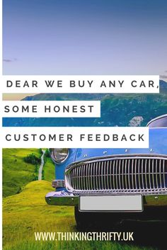 You can get so much more for your car by selling it privately. Compared to the paltry prices you'll get from We Buy Any Car, it is certainly not worth blowing hundreds of pounds to save a bit of time! Hours In A Day, Customer Feedback, Finance Blog, Personal Finance, Saving Money, Budgeting, Surfing, Good Things, Group