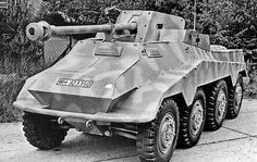 Click this image to show the full-size version. Armored Vehicles, Armored Car, Ww2 Photos, Armored Fighting Vehicle, Military Pictures, Ww2 Tanks, Military Weapons, Military Equipment, German Army