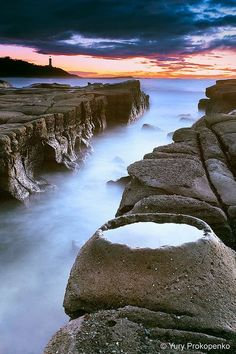 Soldiers Beach Crater, Central Coast, New South Wales ~