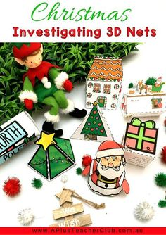 Our Christmas Math Printables For Kids are so much fun for the Holiday Season! From Cheeky Elves,  Reindeer, Snowmen, Trees, Presents, Gingerbread sweet treats, and Santa himself. Your Kids will love learning with these thematic printables for math and literacy for an Jolly Holly Day this December. Christmas Math, Christmas Worksheets, Cone Christmas Trees, Christmas Crafts For Kids, Christmas Printables, Christmas Themes, Christmas Activities For Toddlers, Craft Activities For Kids, Classroom Activities