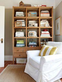 Stylish Bookshelves: Rustic