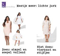 """Maatje meer: lichte jurk."" By Margriet Roorda-Faber on Polyvore featuring mode en Ashley Stewart"
