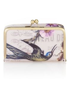 Vintage Inspired Clasp Cosmetic Purse | M&S