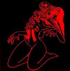 Red Aesthetic Grunge, Devil Aesthetic, Aesthetic Art, Aesthetic Pictures, Desert Aesthetic, Art Et Design, Posca Art, Skeleton Art, Arte Obscura