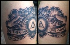 harry potter tattoos!amazing amazing hp tatoos! Look at this tumblr
