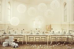 We love this airy white interior styled by Lo Bjurulf for IkeaElle Decoration South Africa