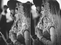 great focus shots of the bride & groom during their ceremony