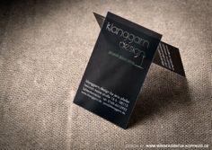 Logo & Businesscard for photo artist, furniture and interior designer :: klanggarn.design