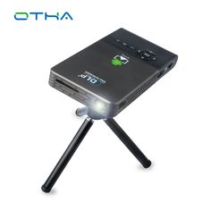 OTHA Portable Mini Projector Home Theater DLP Smart Android Proyector 32GB HDMI Input Auto Keystone Wi-Fi Video Projector #Affiliate