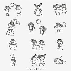 Cute Doodles Vectors, Photos and PSD files Mommy Tattoos, Family Tattoos, Sister Tattoos, Mini Tattoos, Body Art Tattoos, Small Tattoos, Tatoos, Doodle Drawings, Easy Drawings