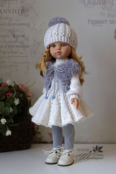 Crochet Doll Clothes American Girl Wedding Dresses 41 New Ideas Knitting Dolls Clothes, Crochet Doll Clothes, Knitted Dolls, Crochet Hat Tutorial, Crochet Beanie Pattern, Crochet Hat For Women, Crochet Baby Boots, Crochet Bikini Bottoms, Crochet Shawls And Wraps