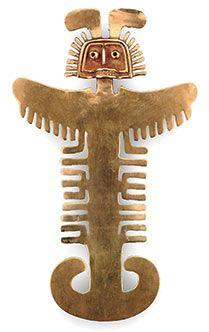 Colombian Art, Inca, Ancient Jewelry, Tumi, Mexican Art, Statement Jewelry, Ceramic Art, Art Forms, Folk Art