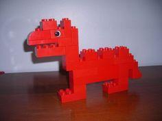 DUPLO Dino: A LEGO® creation by Minifigure Family : MOCpages.com