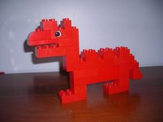 DUPLO Dino: A LEGO® creation by Minifigure Family : MOCpages.com