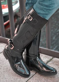Womens Gothic Boots, High Heel Boots, High Heels, Crotch Boots, Wellies Rain Boots, Wellington Boot, How To Make Shoes, Riding Boots, Horse Riding
