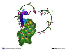 Peacock Illustration By Ruby Huma on Behance Adobe Illustrator, Peacock, Behance, Creative, Illustration, Peacocks, Illustrations, Peafowl