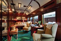 Le Suite Reali del Rovos Rail Pride of Africa - Le Suite Reali sono spaziose ed eleganti e sono dotate di vasche da bagno in stile vittoriano con piedi a forma di zampa.