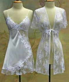 Old Fashion Dresses, Fashion Outfits, Fashion Bella, Vintage Underwear, Sewing Lingerie, White Lingerie, Cotton Pyjamas, Pajamas Women, Sewing Clothes