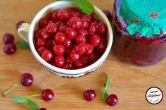 Visine la borcan pentru iarna Cherry, Fruit, Food, Raspberry, Canning, Eten, Raspberries, Meals, Cherries