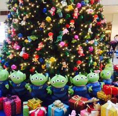 Toy Story Christmas Tree