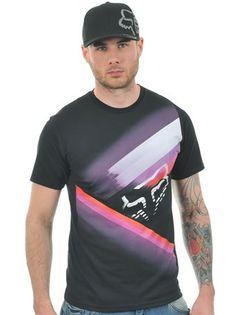Fox Black Glowstyx T-Shirt | Fox | FreestyleXtreme