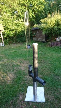 Rocket Stove Design, Diy Outdoor Furniture, Outdoor Decor, Fire Torch, Stove Oven, Rocket Stoves, Building Design, Diy And Crafts, Bbq