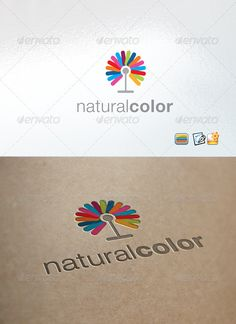 NaturalColor by enio Clear Vector Logo Could be used for businesses and needs, easy to edit and made any change you may want EPS version included. nam