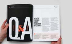 10 Magazine by Gareth Procter Page Layout Design, Magazine Layout Design, Web Design, Magazine Layouts, Design Trends, Print Design, Typography Layout, Graphic Design Typography, Graphic Design Illustration