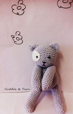 Crochet Tiny  Cat, Adorable Soft Cat, Newborn  Toy Cat, Baby Photography Prop, Amigurumi Crochet Cat, Cotton Cat toy. by CuddleandYarn on Etsy https://www.etsy.com/listing/239103220/crochet-tiny-cat-adorable-soft-cat
