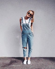 Jeans fashion Latzhose