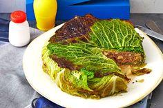 Das Rezept für Pikante Wirsing-Torte mit Rinderhack und Pastinake mit allen nötigen Zutaten und der einfachsten Zubereitung - gesund kochen mit FIT FOR FUN