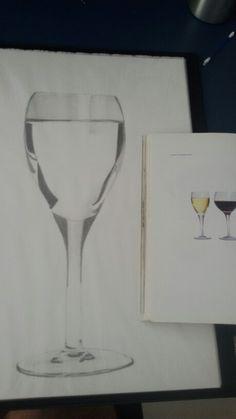 Estudo de luz e sombra em vidro 2