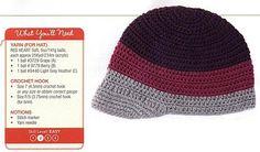 Crochet Hat - Chart