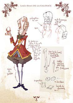 Le grenier de Polyminthe: Animation and design