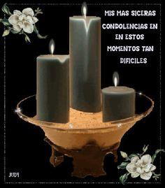 SUEÑOS DE AMOR Y MAGIA: Condolencias.