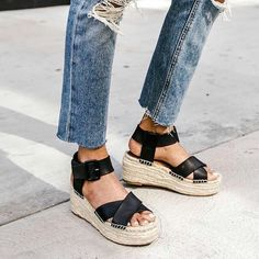 Platform espadrilles, what could be a better summer staple?