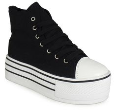 WOMENS LADIES ANKLE HIGH HI TOP LACE UP CANVAS FLAT TRAINERS PUMPS SHOES SIZ 3-8 | eBay